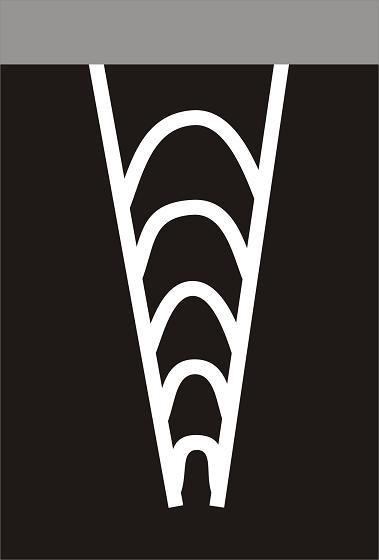 V13b - Vodorovné stříkané značení